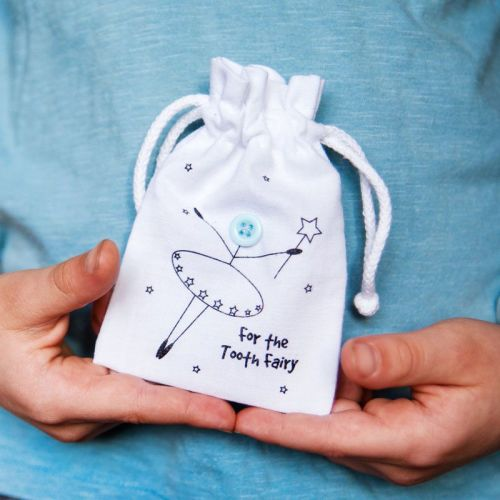 tooth fairy bags and 6 mini letters from the fairy