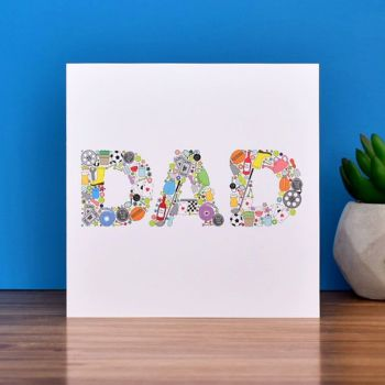 dads things card