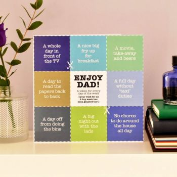 dads tokens card