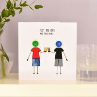 just the one and then home card for boys