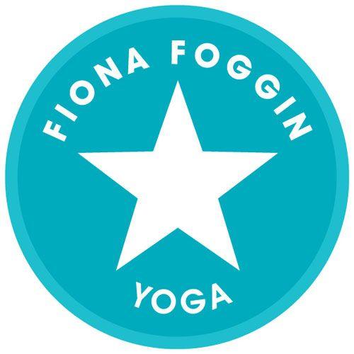 fiona foggin yoga logo design