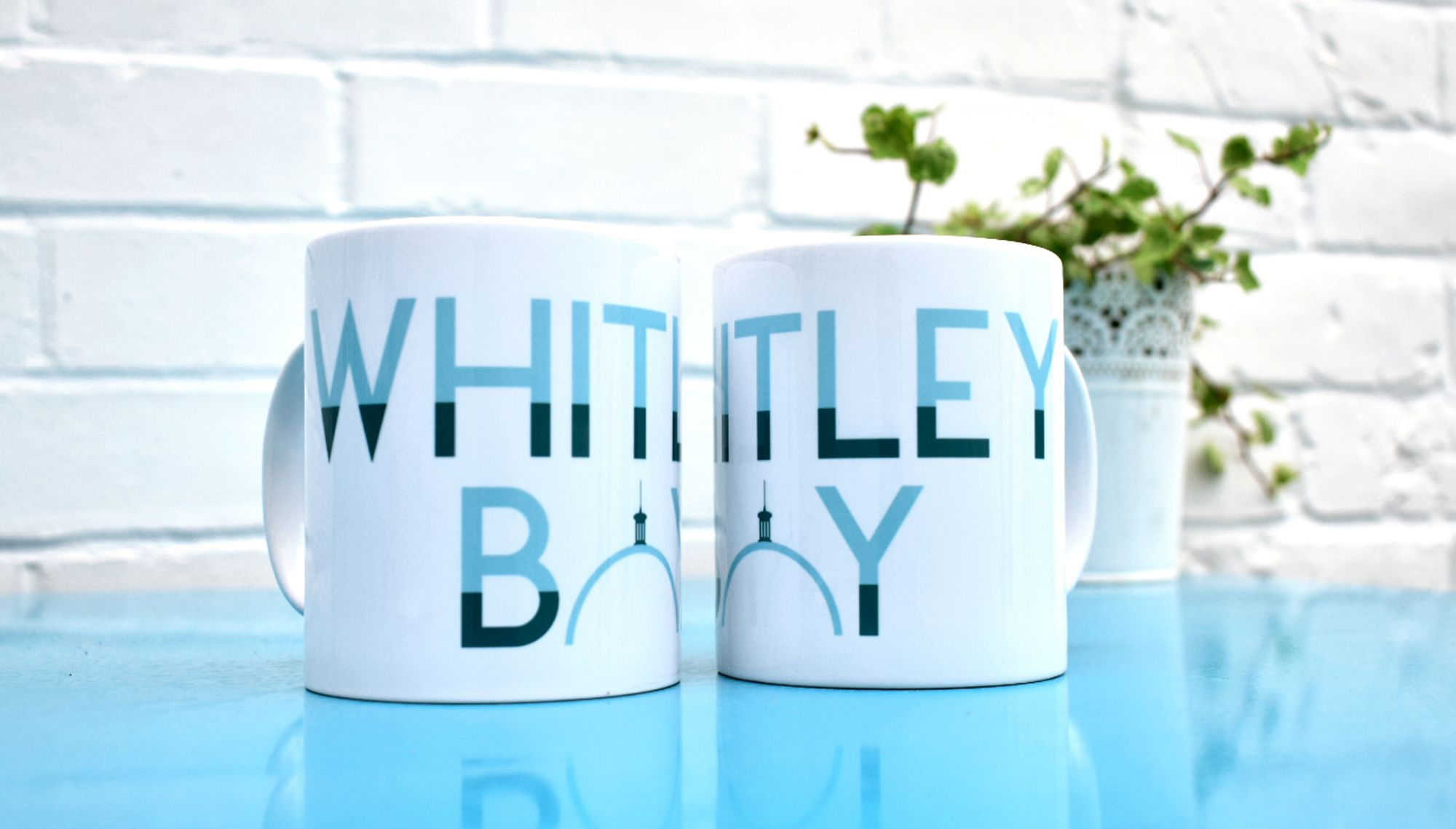 whitley bay mug offer 1 mug £9.00, 2 mugs £15.00