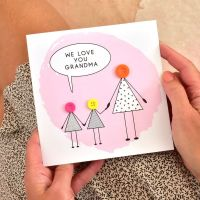 love you grandma card