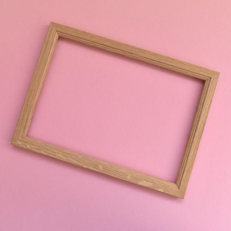 A4 oak frame (flawed oak)