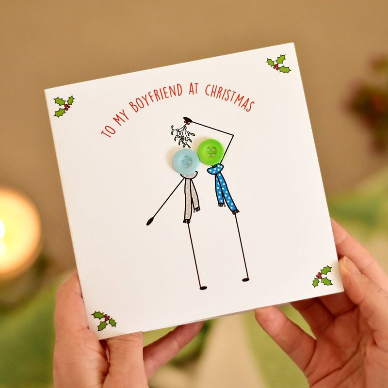 to my boyfriend at christmas card - 2 gay males