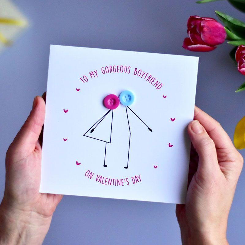 to my boyfriend Valentine's Day card