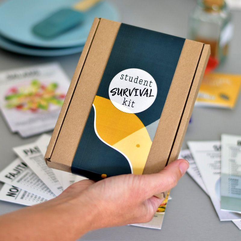 'student survival kit' letterbox gift