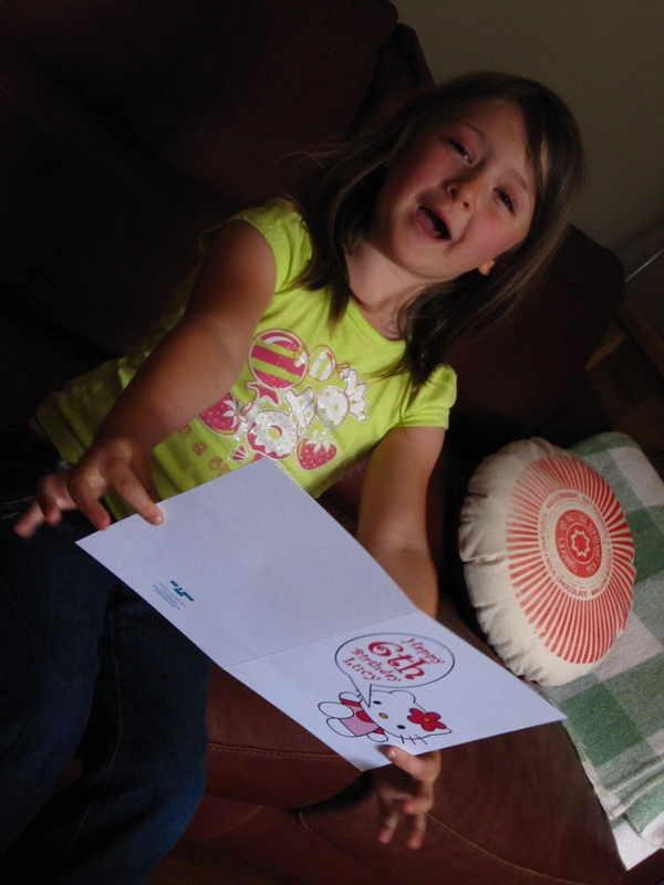 Lucywithbirthdaycard