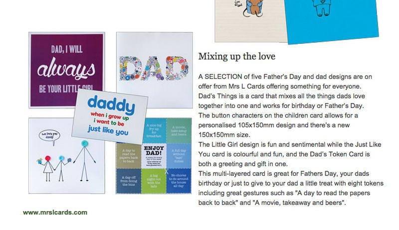 gt press on fathers day cards