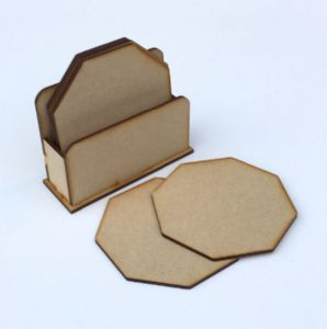 Octagonal Coaster Set