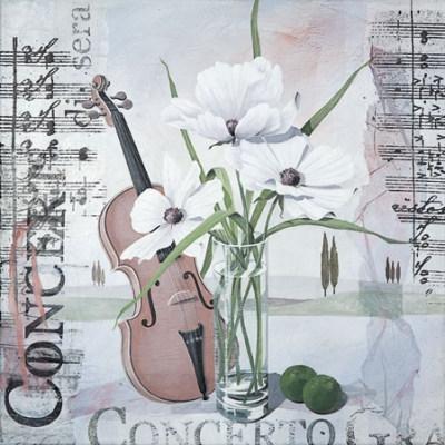 Concerto Napkin. 25 cm x 25 cm