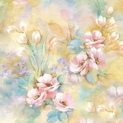 Romantic Napkin. 25 cm x 25 cm