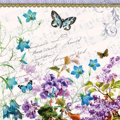 Romantic Pure. 25 cm x 25 cm