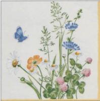 V & B My Garden napkin. 25 cm x 25 cm.