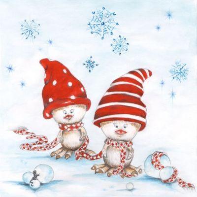 Happy Winter Birds 33304835
