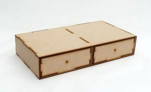 Mdf 2 Drawer Unit