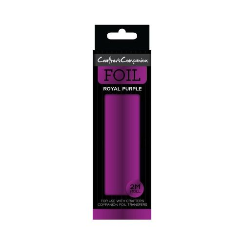 Crafter's Companion Foil Roll - Royal Purple