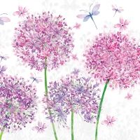 Aquarell Dandelion Napkin - 25 cm x 25 cm
