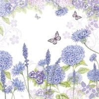 Puple Wildflowers napkin - 25 cm x 25 cm