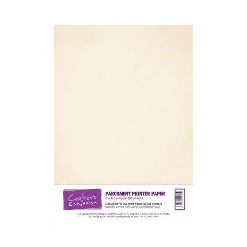 Parchment Printer Paper - 20 sheets
