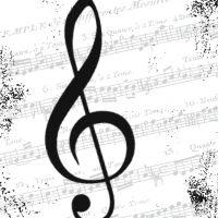 I Love Music - 25 x 25 cm