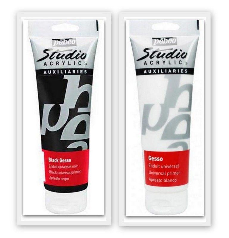 Pebeo Studio Acrylics Gesso