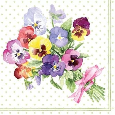 Bunch of Violets - Green - 13312710