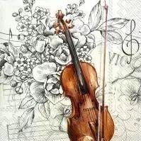 Bella Musica - C 804900 -  25 x 25 cm