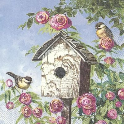 Lovely Bird House - C858800