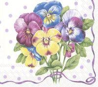 Purple Pansy - light lilac - C 852689