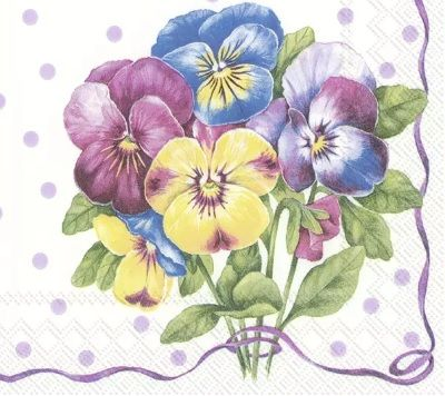 Purple Pansy - light lilac - C 852689