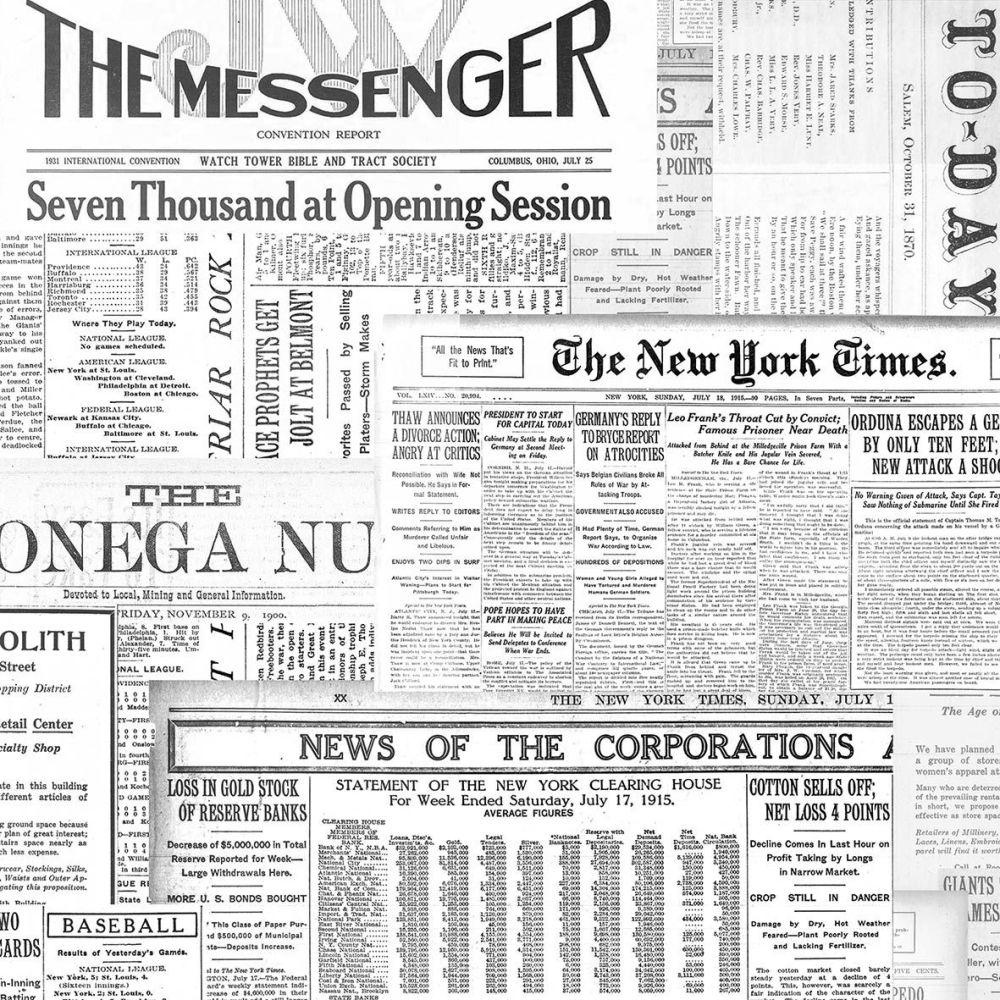 The Messenger Napkin.  33 cm x 33 cm