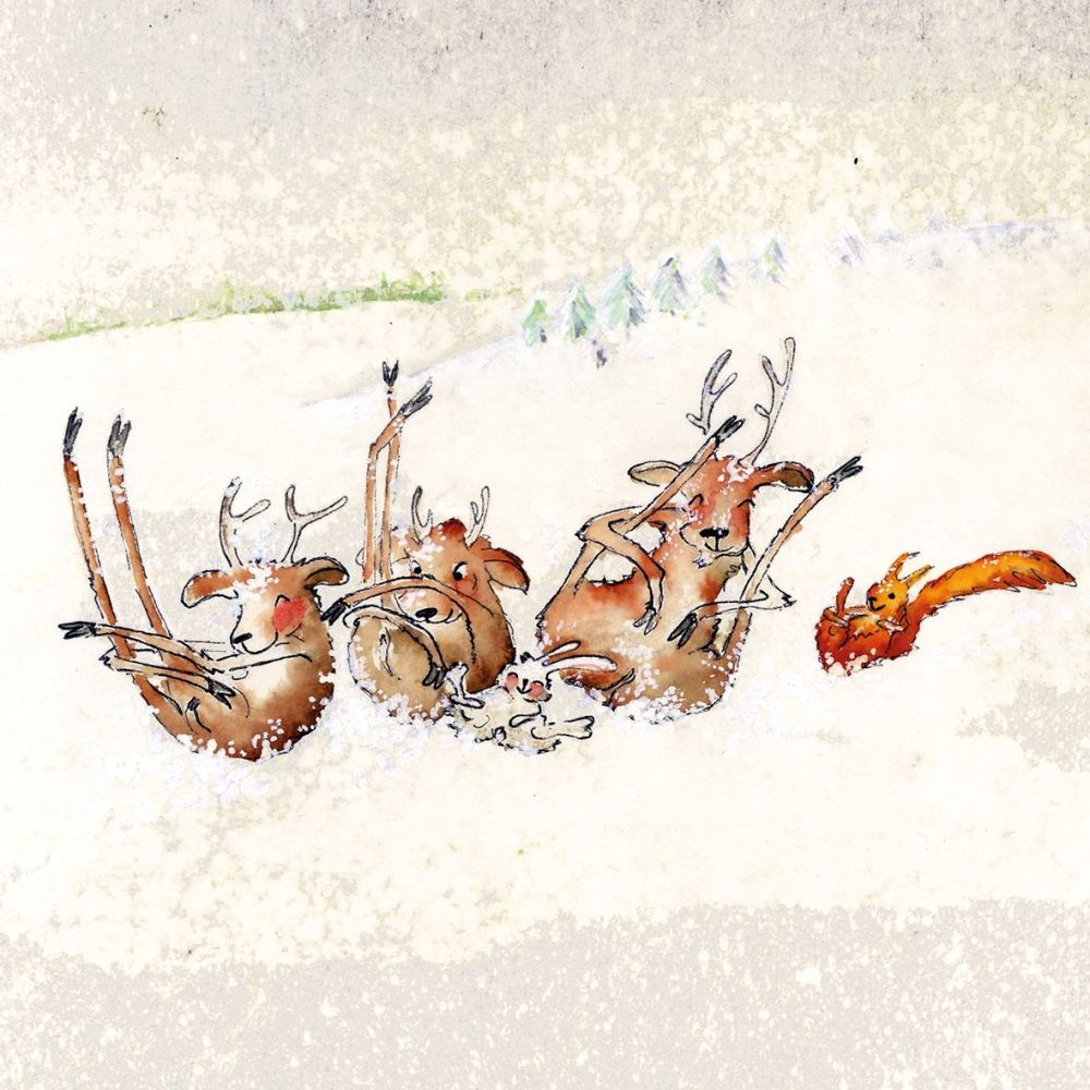 Oh Deer! Napkin. 3333406