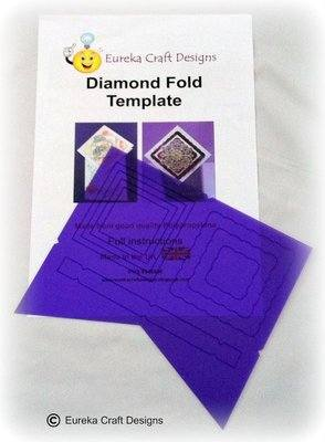 Diamond Fold Template