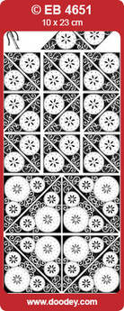 Corner Flower Circles