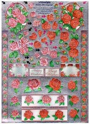 248668 - Freestyle/Dufex foiled roses
