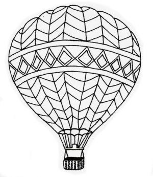 CJP02E -  Hot Air Balloon