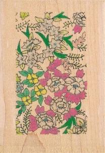 P140P - Oriental Blossom Background
