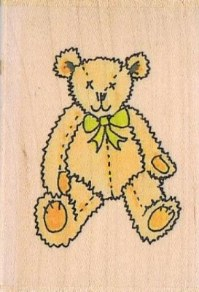 F-H86 - Fun Stamps - Teddy Bear