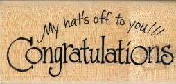 N143 - Hats off Congrats