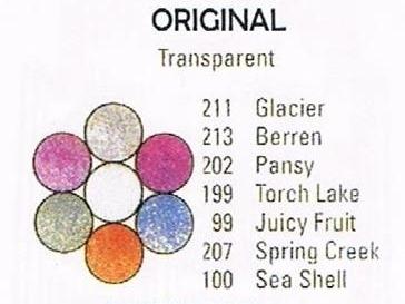 Original Medallion - Pee Wee Glitters - 7 x 2 gram vials