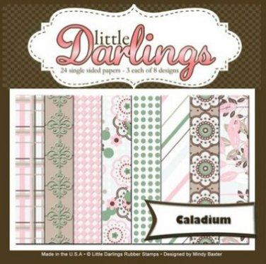 Little Darlings Paper Pack - 6