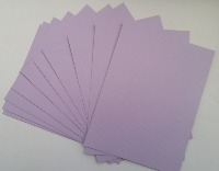Red/Light Green/Lilac/Cream & Off white Textured card stock - Approx 15cm x 20cm. 10 sheets per pack.