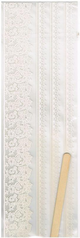Embroidery Lace Rub-on's -  Cream