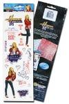 PHNSBM1 - Disney Hannah Montana Stickers - Acid & Lignin Free