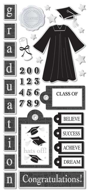 PSCB324 - Graduation Stickers