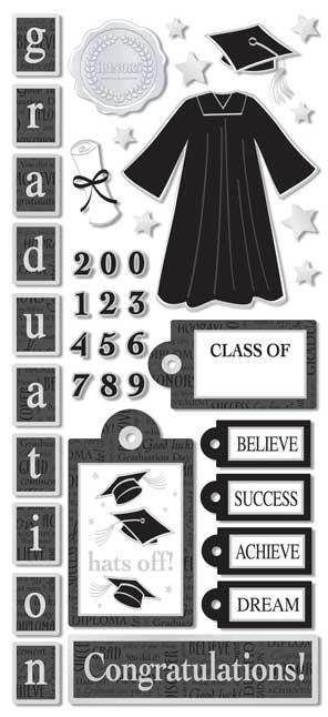 PSCB324 - Graduation Stickers