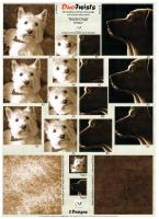 DT8027 - Duo Twists - Sepia Dogs