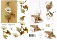 4169505 - Sepia sheet with two sympathy Images