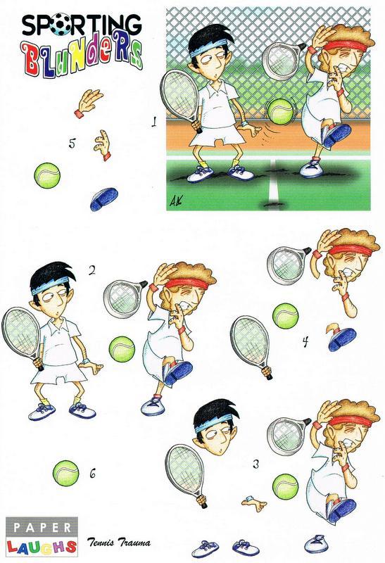 Sporting Blunders - Tennis Trauma